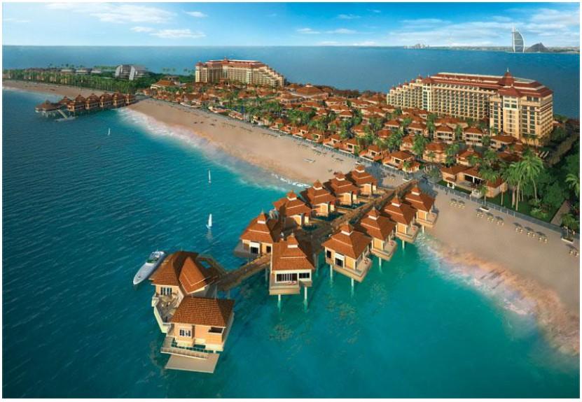 迪拜棕榈岛安纳塔拉水疗度假村 打造完美海滨假日