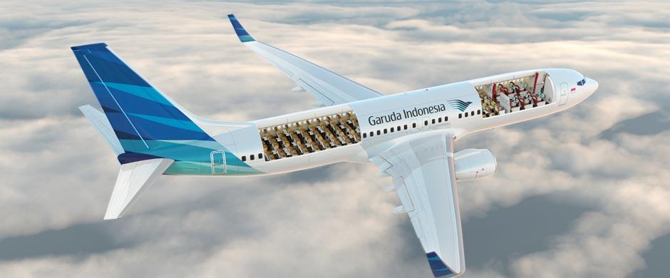 我们把北京——巴厘岛的执飞机型由原来的空客a330-300