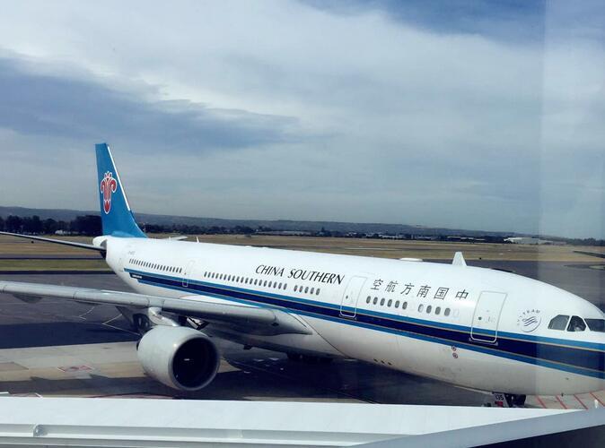 近日,阿德莱德机场首次迎来了从广州出发的中国南方航空直航航班cz
