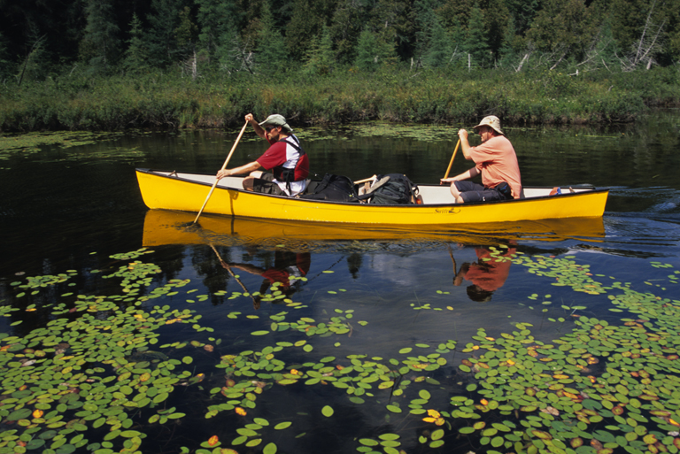 加拿大安大略独木舟之旅,重走水上沉思路