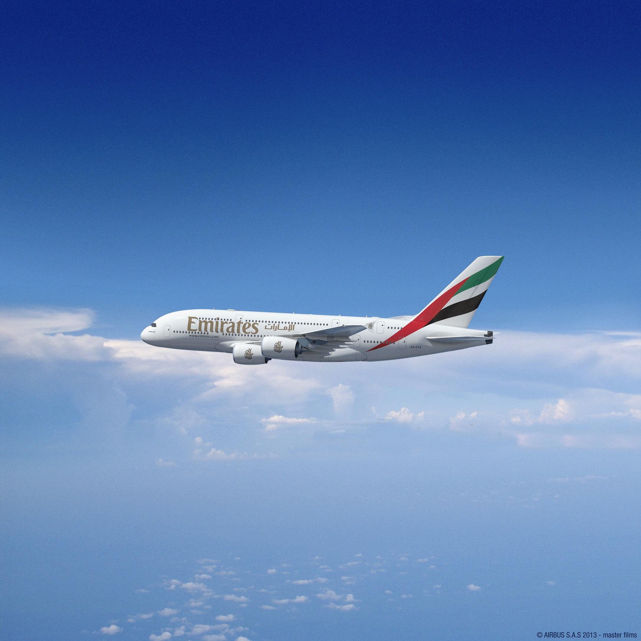 阿联酋航空宣布迪拜至莫斯科航线增至每日两班a380航班